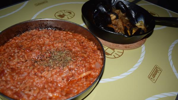 【キャンプで世界を食べるシリーズ!!】キャンプで簡単イタリアン!Buono!!