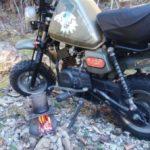 【青崩峠デイキャンプ】じゃじゃ馬バイク「おにぎりくん」で酷道に行ってみた
