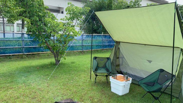 話題!One Tigrisシェルターでミリタリー女子キャンプをしてみた!