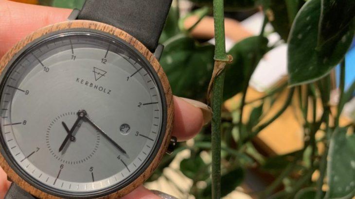 【天然木使用!】カーブホルツはキャンパー必見の旬な腕時計