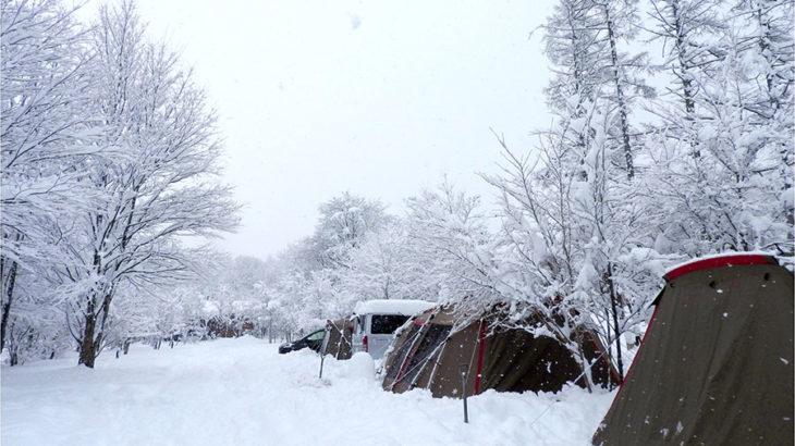 初心者の冬キャンプ!これだけは気をつけたい5つのポイント