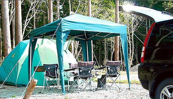 岐阜県、ウイングヒルズ白鳥、手ぶらキャンプ