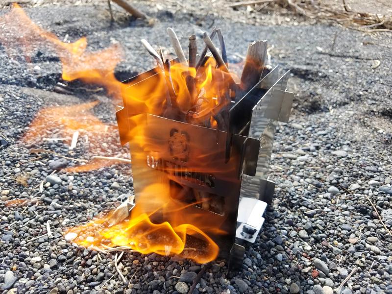 ONETIGRIS(ワンティグリス)のソロストーブで炎上
