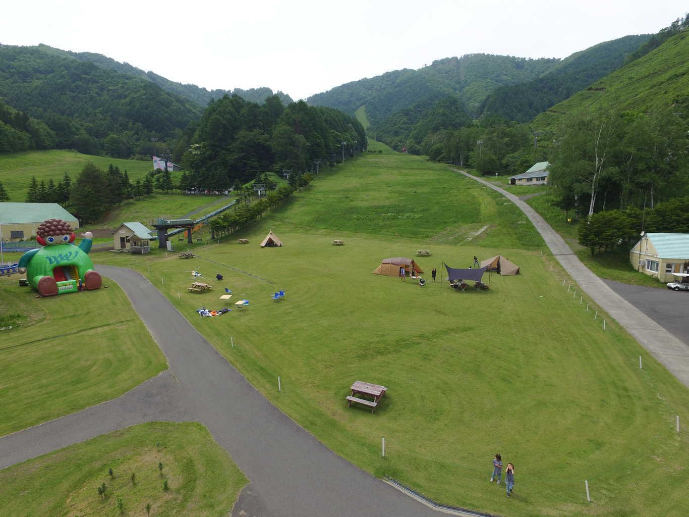 尾瀬いわくらキャンプ場、夏季限定キャンプ場、オートキャンプ場