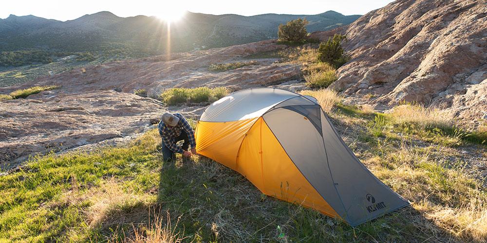 クライミット、新作テント、ソロテント