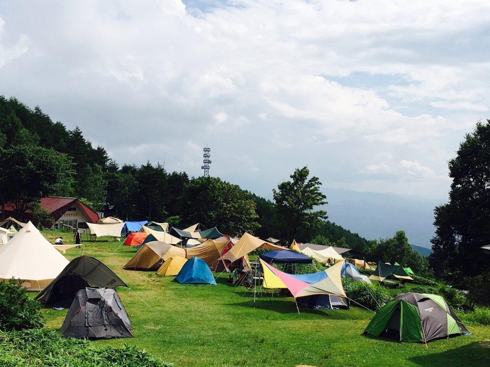 陣馬形山キャンプ場、ゆるキャン、ゆるキャン聖地巡礼