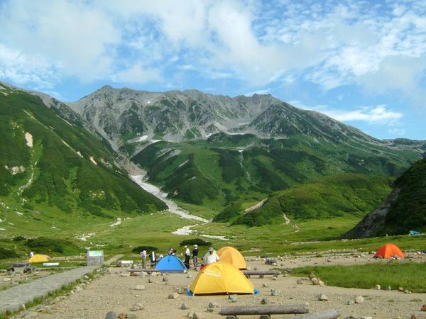 雷鳥沢キャンプ場、人気のキャンプ場、おすすめ