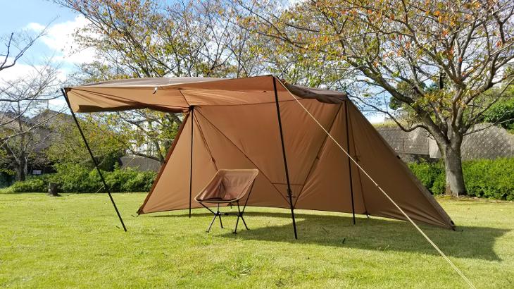 OneTigrisのテント