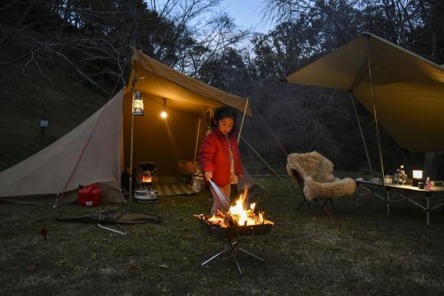 子連れキャンプ イメージ