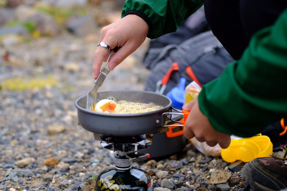 山ご飯、アウトドア、キャンプ飯