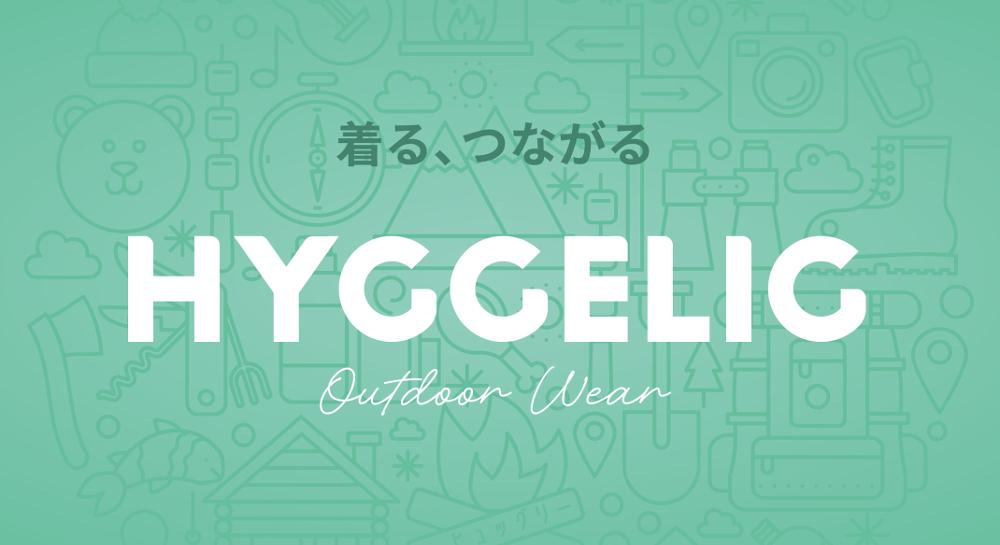 HYGGELIG(ヒュッグリー) ,ロンT、crazycamp