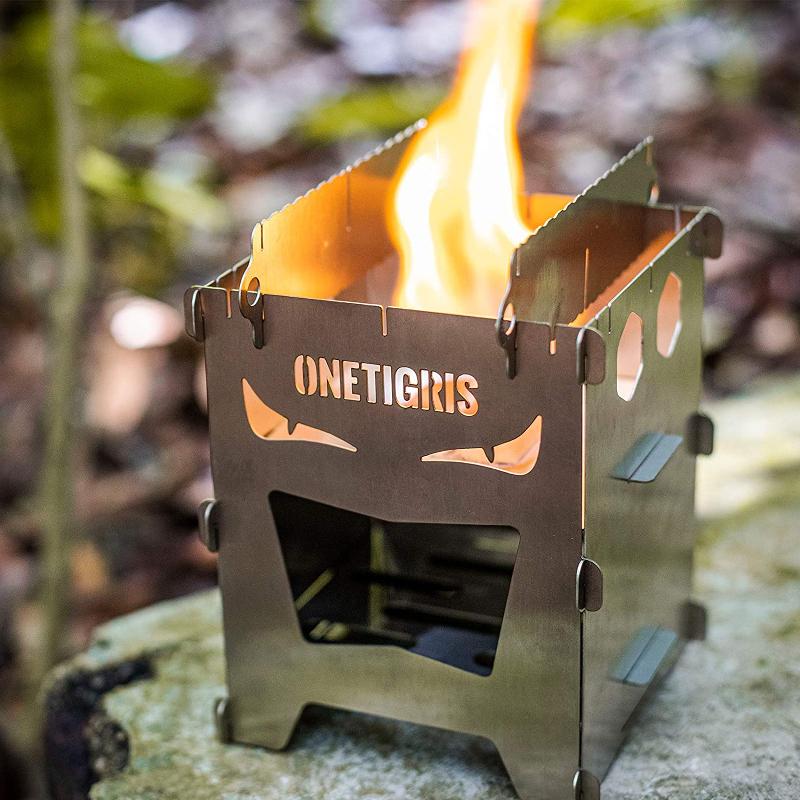 OneTigrisのミニ焚き火台ROCUBOID