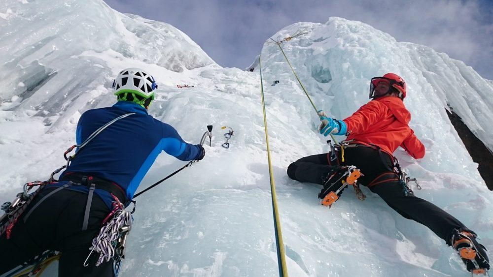 REWILD NINJA SNOW HIGHLAND、アイスクライミング、氷壁