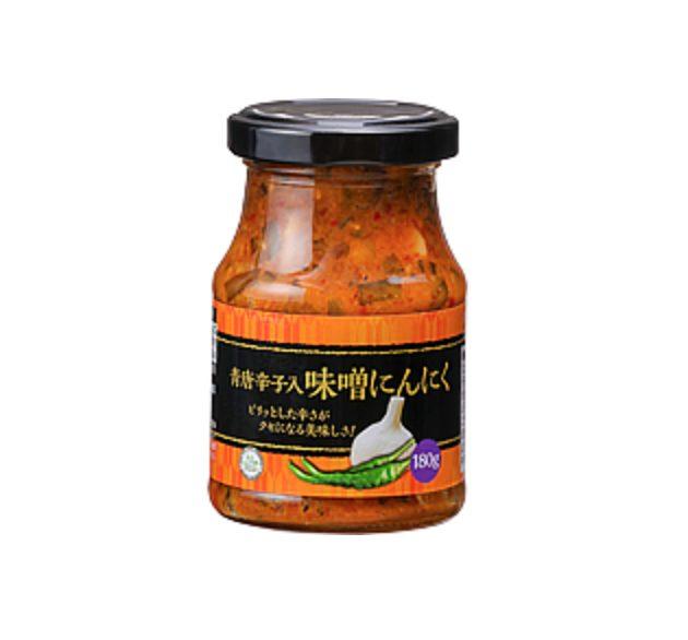 業務スーパー 青唐辛子入味噌ニンニク