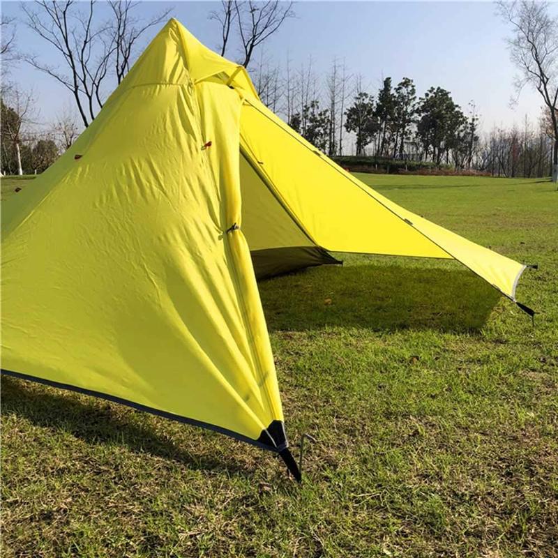 軽量なテント