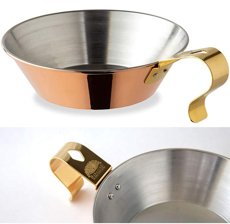 真鍮製のシェラカップ