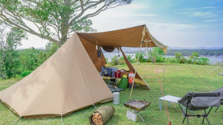 ドローン空撮でキャンプ場を知る!魅力たっぷりのおすすめキャンプ場5選
