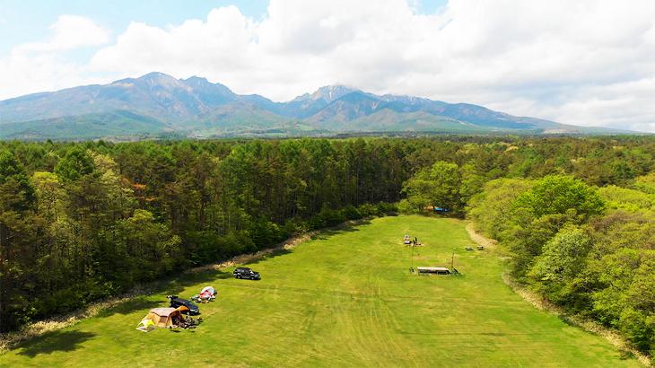 2021年シーズンスタート!富士山や八ヶ岳を望める新栄清里キャンプ場