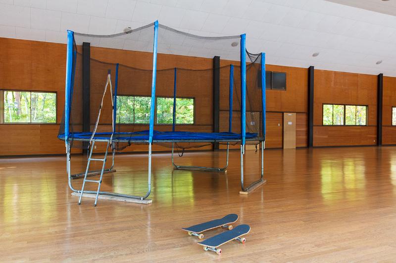 新栄清里キャンプ場の体育館