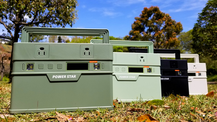 POWER STARのポータブル電源