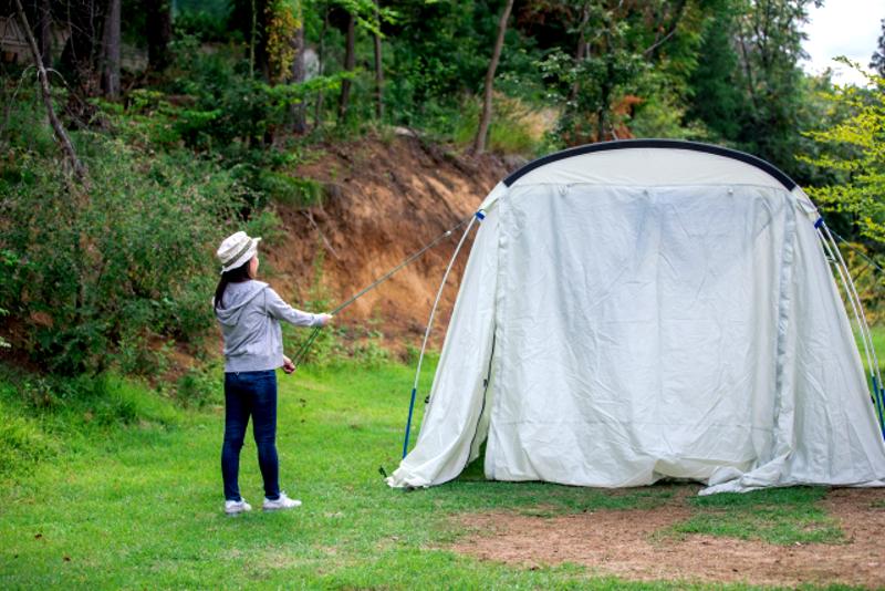テント&タープあるある
