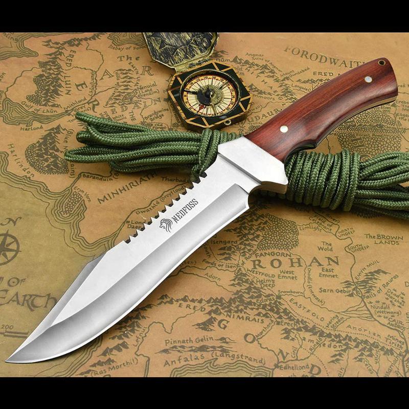 無骨ギアのフルタングナイフ