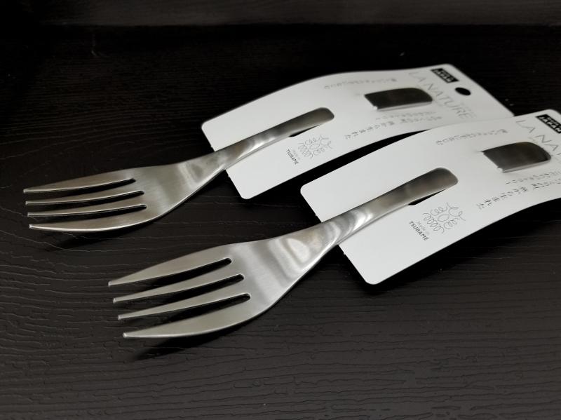 セリアの燕製フォーク